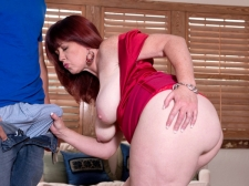 Heather's Wazoo Meets Inflexible Cock