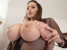 A Cream Injection For A 34DDD Brunette