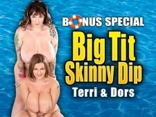 Big Tit Tiny Dip: Terri Jane & Dors Feline
