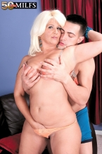 The larger than standard bootied Latin babe SEXY HOUSEWIFE and the big cock