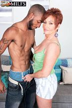 Young, dark dick for MILF Ruby O'Connor